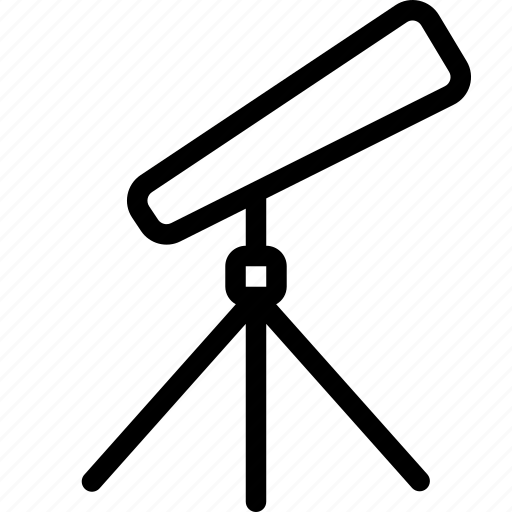 alien, galaxy, star, telescope icon