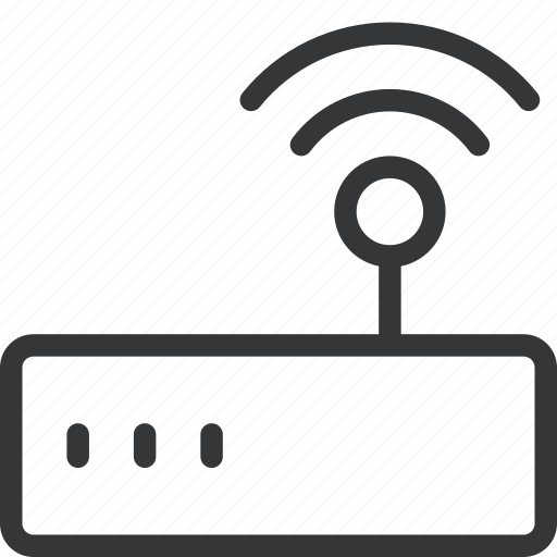 connection, ip, modem, router, tech, wifi icon