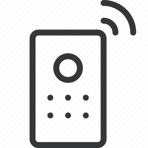 control, remote, remote control, tech, wireless remote icon