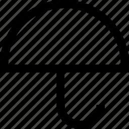 tool, umbrella icon
