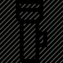 flashlight, tool icon
