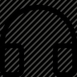 headphone, tool icon