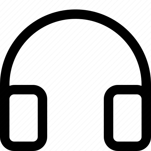 headphone, tool icon