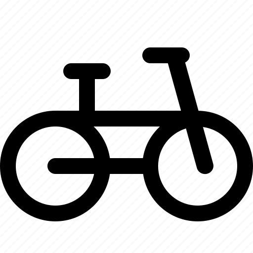 bicycle, transportation icon