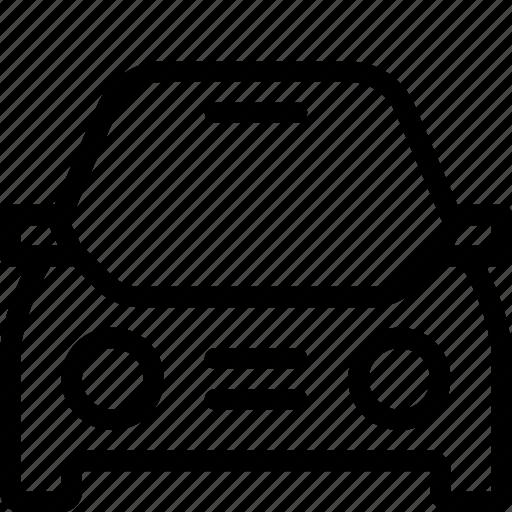 car, front, sedan, suv, transportation icon