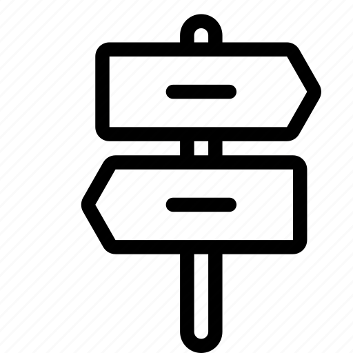 board, direction, holiday, travel direction icon