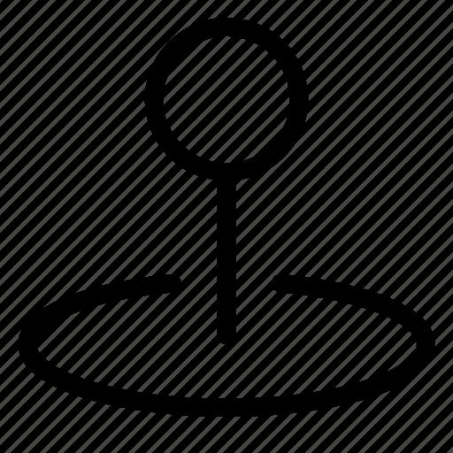area, location, pin, position icon