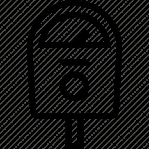 meter, park fee, park meter, parking icon