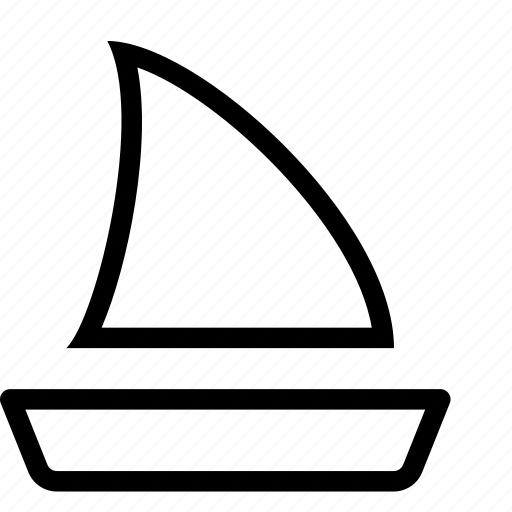 boat, sailing, transportation, travel icon