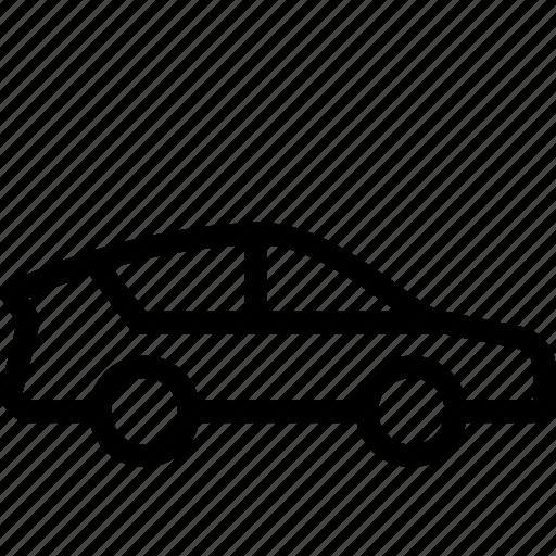 sedan, transportation, travel icon
