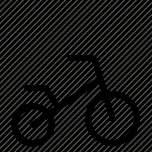 bike, small, transportation, travel icon