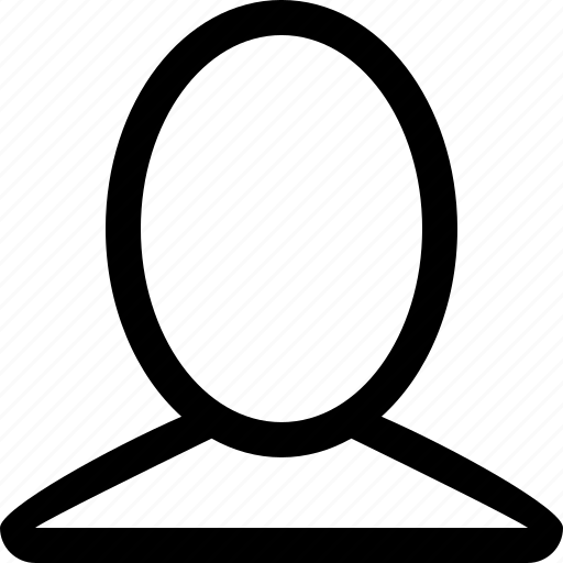 single, user icon