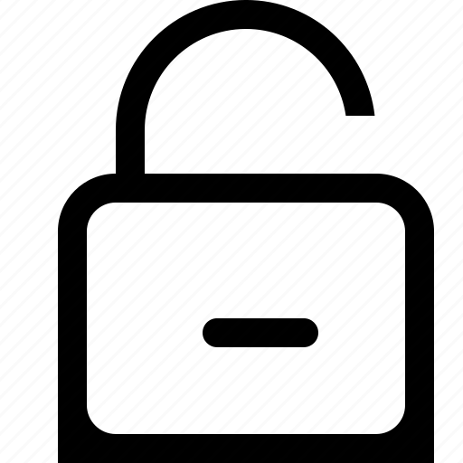 password, private, unlock icon