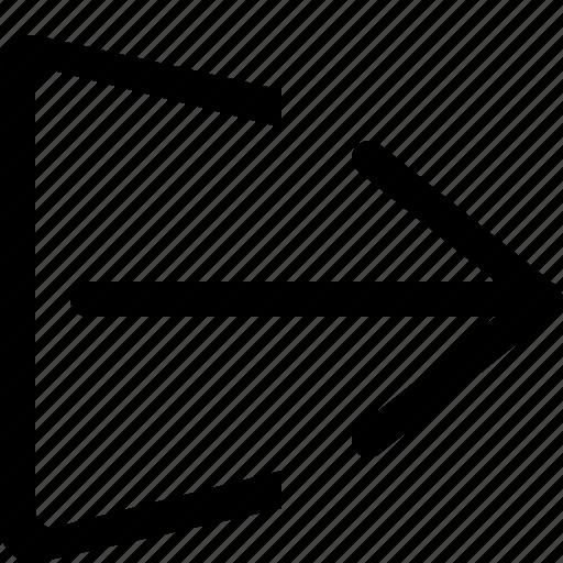 exit, log, logout, out, web icon