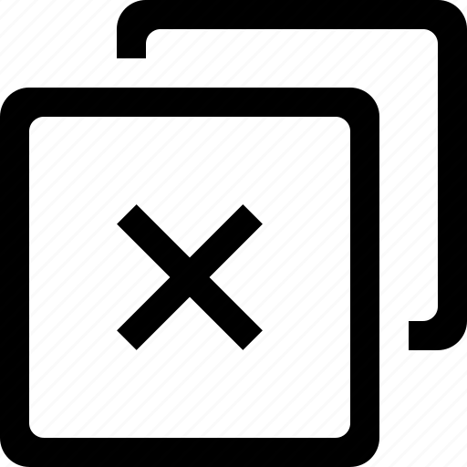 browser, cross, remove, web icon