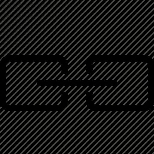 anchor, link, media icon