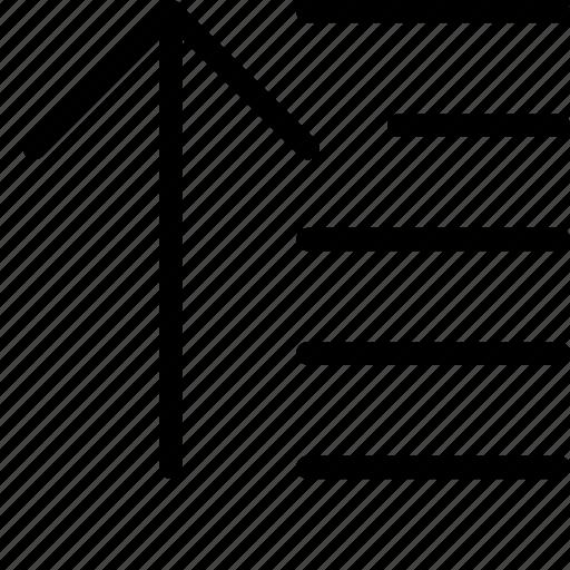 descending, order icon