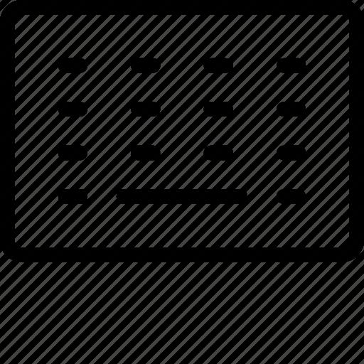 digital, keyboard icon