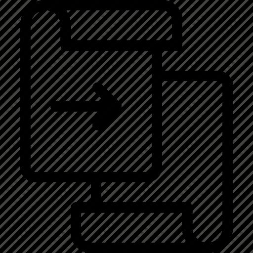 Forward, page icon