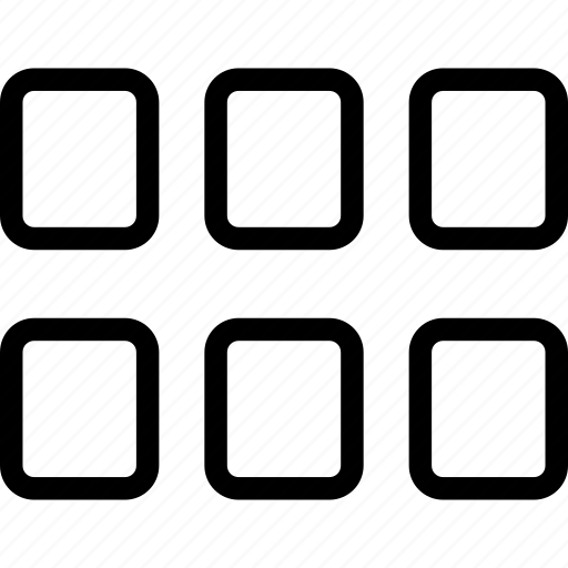 grid, view icon