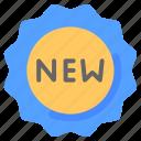 badge, business, ecommerce, new, shopping, sticker
