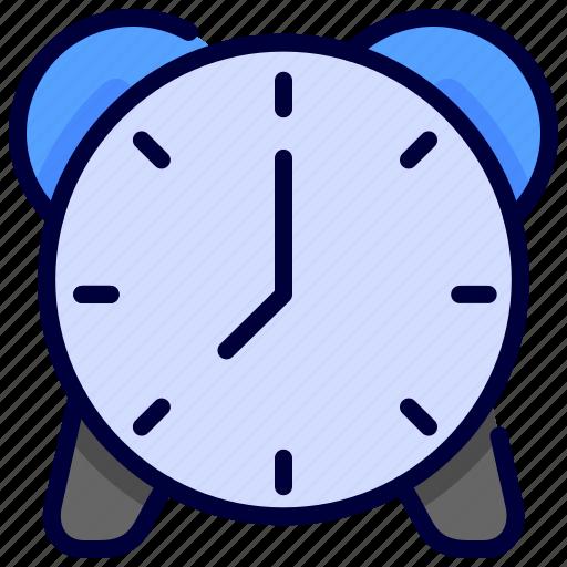 alarm, bell, clock, education, school, time icon