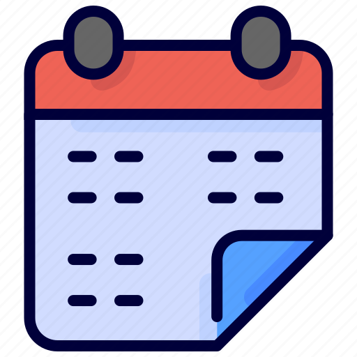 calendar, date, education, schedule, time icon