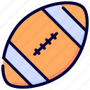 american, education, football, game, play, school, sport icon