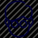 avatar, boy, character, education, man, school, student icon