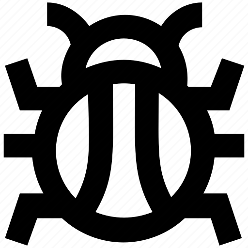 antivirus, computer virus, insect, trojan icon