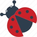 beetle, bug, bugs, fly, grass, plane icon