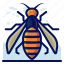 bug, insect, wasp, wildlife icon