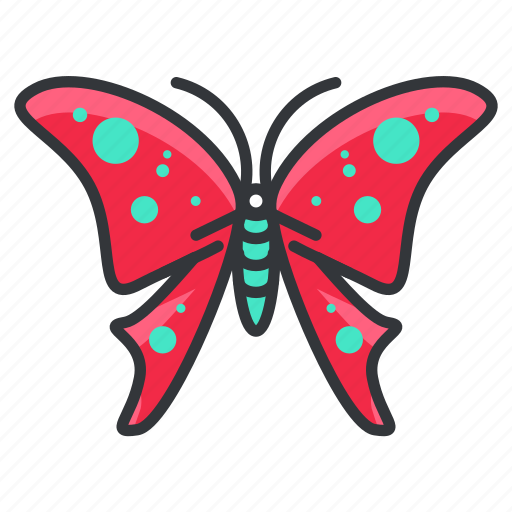 beauty, bug, butterfly, nature, wildlife icon