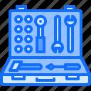 builder, building, construction, hammer, repair, screwdriver, toolbox