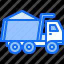 builder, building, construction, repair, sand, truck