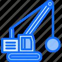 ball, builder, building, construction, crane, repair, wrecking