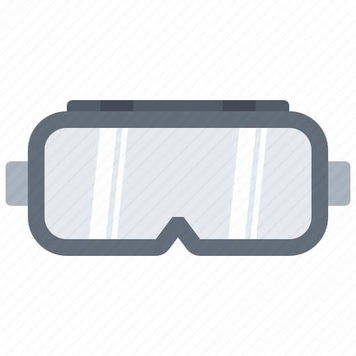 builder, building, construction, goggles, repair, safety icon