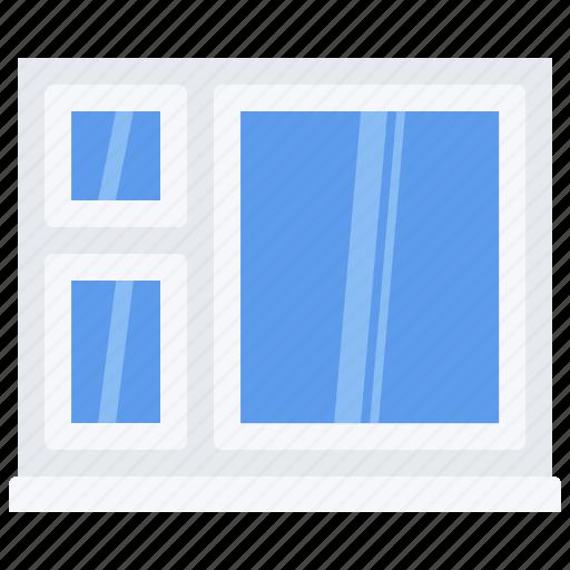 builder, building, construction, repair, window icon
