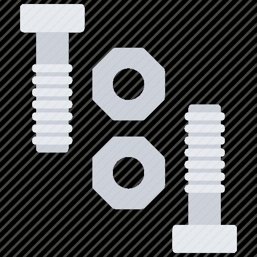 bolt, builder, building, construction, nut, repair icon