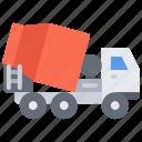 builder, building, concrete, construction, mixer, repair, truck