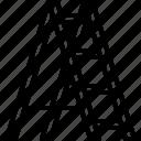 builder, building, construction, ladder, repair icon