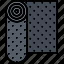repair, construction, covering, building, carpet, builder icon