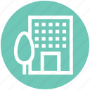 apartment, building, center, company, office