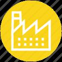 building, company, factory, industrial