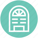building, home, property, window icon