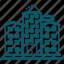 building, city, hotel