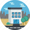 building, house, office icon