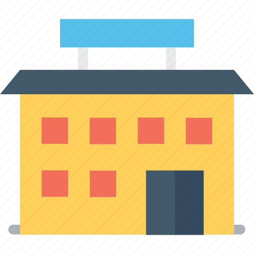 building, hospital, hotel, mall, residence icon