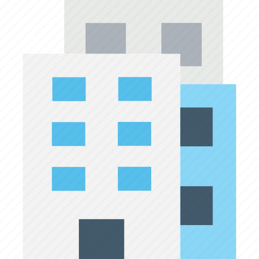 building exterior, family house, home, house, residence icon