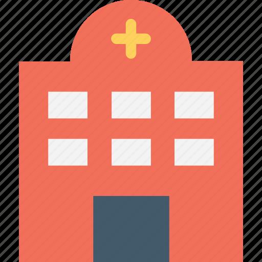 clinic, hospital, medical college, nursing home, sanatorium icon